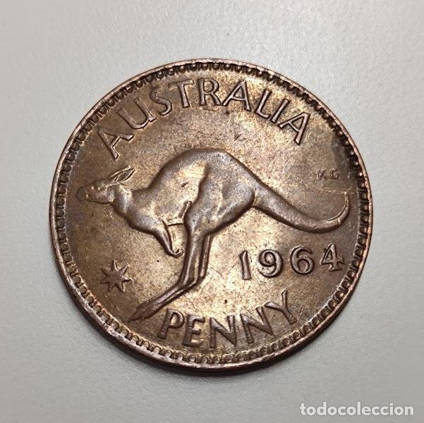 1 PENIQUE AUSTRALIA 1964 (Numismática - Extranjeras - Oceanía)