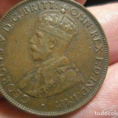 Monedas antiguas de Oceanía: MONEDA AUSTRALIA JORGE V - HALF PENNY MEDIO MENIQUE AÑO 1932 MUY BONITA - MIRA OTRAS EN VENTA. Lote 261881160
