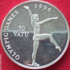 Monedas antiguas de Oceanía: VANUATU 50 VATU DE PLATA PROOF 1994. Lote 262001425
