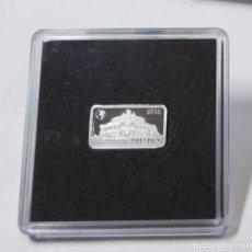 Monedas antiguas de Oceanía: LINGOTE DE PLATA DE ISLAS SALOMON 1/2 DOLAR DEL 2015.SON 2,5 GRAMOS DE PLATA PURA DE LEY 9999. PROOF. Lote 262556450