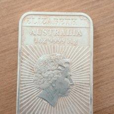 Monedas antiguas de Oceanía: 1 DOLAR. 2018. AUSTRALIA. PLATA.. Lote 262958375