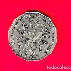 Monedas antiguas de Oceanía: AUSTRALIA 50 CENTS 1982, XII JUEGOS COMMONWEALTH. Lote 262970245