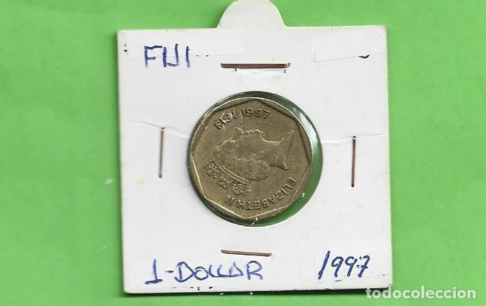 FIJI. 1 DOLLAR 1997. BRONCE CON ALUMINIO. KM#73 (Numismática - Extranjeras - Oceanía)