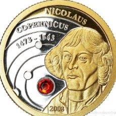Monedas antiguas de Oceanía: MONEDA DE ORO NICOLÁS COPERNICO. Lote 264602164