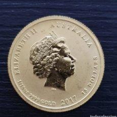 Monedas antiguas de Oceanía: 15 $ AUSTRALIANOS. 3,10 GRAMOS DE ORO 24KTS.. Lote 265416224