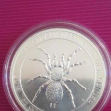 Monedas antiguas de Oceanía: MONEDA 1 DOLLAR AUSTRALIA 2015 SPIDER PLATA 999 31 GR. Lote 265473444