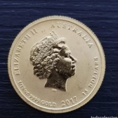 Monedas antiguas de Oceanía: 15 $ AUSTRALIANOS. PESA 3,10 GRAMOS ORO 24KTS.. Lote 265490489