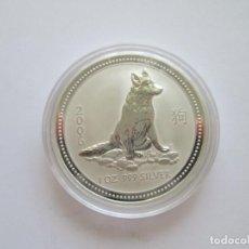 Monedas antiguas de Oceanía: AUSTRALIA * 1 DOLAR 2006 * AÑO DEL PERRO * 1 ONZA DE PLATA PURA. Lote 266458153