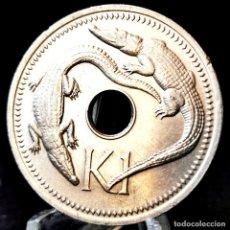 Monete antiche di Oceania: ⚜️ 1 KINA 1975. PAPÚA NUEVA GUINEA. # AD014. Lote 267614334