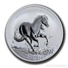 Monedas antiguas de Oceanía: MONEDA AUSTRALIAN BRUMBY 2020. 1 ONZA TROY PLATA EN CAPSULA DE FABRICA. Lote 267675839