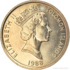Monedas antiguas de Oceanía: [#744568] MONEDA, ISLAS SALOMÓN, ELIZABETH II, 5 CENTS, 1988, EBC+, COBRE - NÍQUEL. Lote 269175998