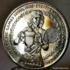 Monedas antiguas de Oceanía: ⚜️ B2215. CONMEMORATIVA. 5 DOLLARS 1988. NIUE. Lote 269239038