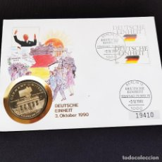 Monedas antiguas de Oceanía: ⚜️ B2317. MUY EXCLUSIVO, NUMERADO! CONMEMORATIVA 5 DOLLARS 1990 ISLA DE MARSHALL FDC / BU. Lote 269289793