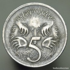 Monedas antiguas de Oceanía: 5 CENTIMOS AUSTRALIA 1967. Lote 269418438