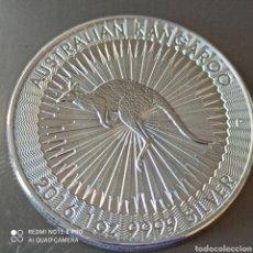 Monedas antiguas de Oceanía: 1 DÓLAR AUSTRALIA, SIN CIRCULAR 2016 BAÑO DE PLATA CALIDAD PROOF.. Lote 270522773