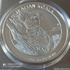 Monedas antiguas de Oceanía: 1 DÓLAR AUSTRALIA 2016,SIN CIRCULAR,AUSTRALIAN KOALA, BAÑO DE PLATA MONEDA PROOF.. Lote 270523173