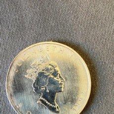 Monedas antiguas de Oceanía: ELIZABETH II , ISABEL II , MONEDA DE PLATA , 5 DOLLARS , 1992 , CANADA. Lote 270530358
