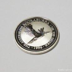 Monedas antiguas de Oceanía: 1 DOLAR DE PLATA DE AUSTRALIA DEL AÑO 1996.1 ONZA DE PLATA DE LEY 9999.PROOF. Lote 271876218