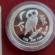 Monedas antiguas de Oceanía: NIUE. ONZA DE PLATA PURA DE 2017. ENCAPSULADA. SC. Lote 272279578
