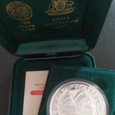 Monedas antiguas de Oceanía: MONEDA 5 DOLLARS 2000 AUSTRALIA SIDNEY OLÍMPICOS PLATA 999. Lote 272952878