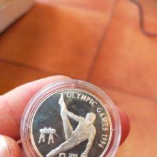 Monedas antiguas de Oceanía: MONEDA DE 1 UN DOLAR DOLLAR WEST SAMOA SISIFO PLATA PRUEBA 1996 JUEGOS OLIMPICOS POTRO. Lote 274619508
