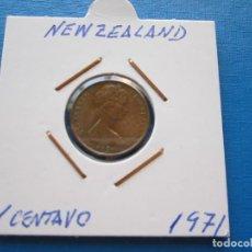 Monedas antiguas de Oceanía: MONEDA DE N. ZELANDA DE 1 CENTAVO DE 1971 ESCASA. Lote 275971258