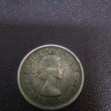 Monedas antiguas de Oceanía: MONEDA ISABEL II CANADA 1962 ,25 CENTIMOS PLATA. Lote 276277213