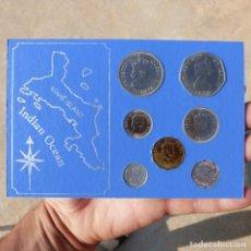 Monedas antiguas de Oceanía: SET DE MONEDAS DE LAS SEYCHELLES , 5 RUPPES HASTA ONE CENT , 1972. Lote 276697158