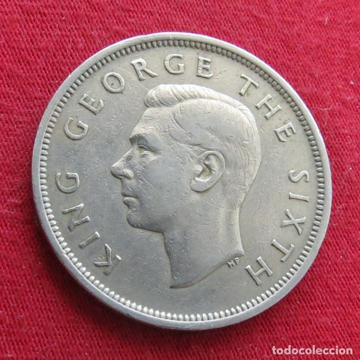 Monedas antiguas de Oceanía: Nueva Zelanda 1/2 crown 1950 New Zealand - Foto 2 - 278288048
