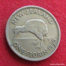 Monedas antiguas de Oceanía: NUEVA ZELANDA 1 FLORIN 1949 NEW ZEALAND. Lote 278290368