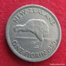 Monedas antiguas de Oceanía: NUEVA ZELANDA 1 FLORIN 1950 NEW ZEALAND. Lote 278290423