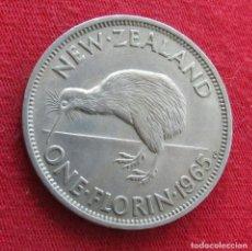 Monedas antiguas de Oceanía: NUEVA ZELANDA 1 FLORIN 1965 NEW ZEALAND. Lote 278290543