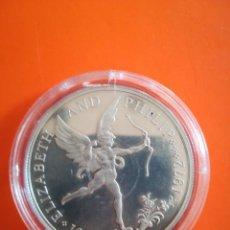 Monedas antiguas de Oceanía: MONEDA 25 PENCE GUERNSEY 1972 PLATA ELIZABETH AND PHILIP. Lote 278410633