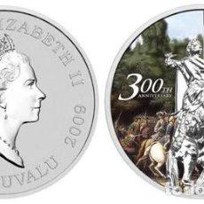 Monedas antiguas de Oceanía: TUVALU DOLLAR 2009 300 ANIVERSARIO DE LA BATALLA DE POLTAVA. 31,105 GRS PLATA .999 EN CÁPSULA. Lote 278477563