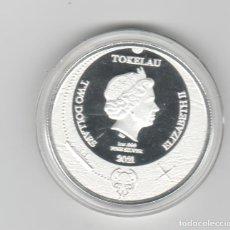Monedas antiguas de Oceanía: TOKELAU- 2 DOLARES- ONZA- 2021-PROF - ENCAPSULADA. Lote 278479448