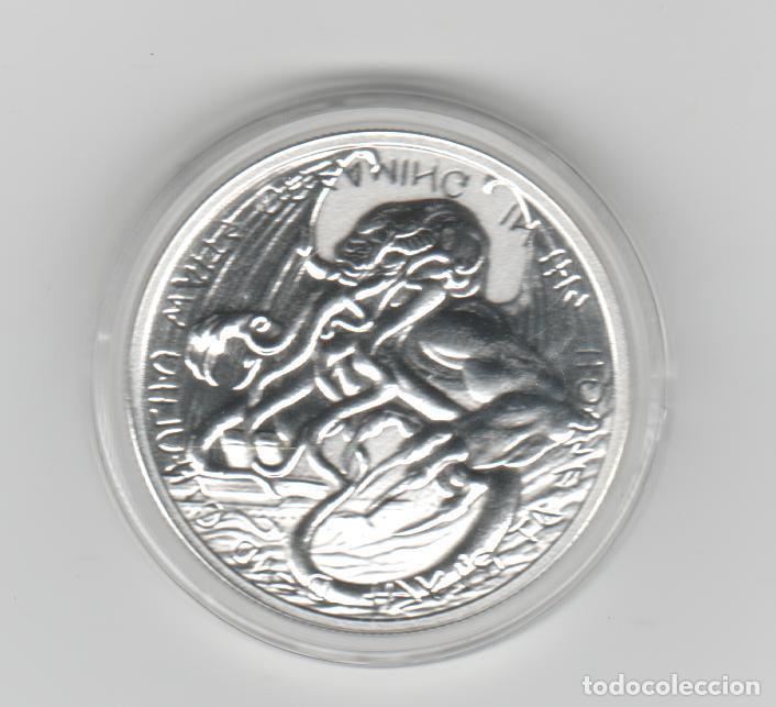 Monedas antiguas de Oceanía: TOKELAU- 2 DOLARES- ONZA- 2021-PROF - ENCAPSULADA - Foto 2 - 278479448