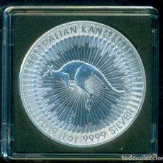 Monedas antiguas de Oceanía: AUSTRALIA - 1 DOLAR DE PLATA / ONZA DE PLATA PURA 999 MILESIMAS KANGAROO 2019. SIN CIRCULAR. Lote 279383303