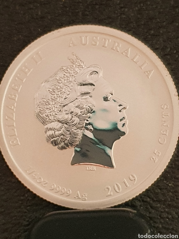 Monedas antiguas de Oceanía: Moneda Australiana conmerativa del año del Cerdo. Plata999. Pesa 7,78 gramos. Plata 999. - Foto 2 - 280337403