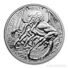 Monedas antiguas de Oceanía: MONEDA TOKELAU - THE GREAT OLD ONES: CTHULHU 2021 1 ONZA TROY PLATA EN CAPSULA. Lote 282243553