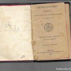 Monedas antiguas de Oceanía: DEVOCIONARIO DE 1892. Lote 286346568