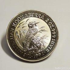 Monedas antiguas de Oceanía: 2 DOLARES DE PLATA DE AUSTRALIA DEL AÑO 1992.2 ONZAS DE PLATA DE LEY 9999.PROOF. Lote 286488833
