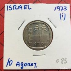 Monedas antiguas de Oceanía: 4105 )ISRAEL,,10 AGOROT 1973,,I,, EN ESTADO MUY BUENO. Lote 288489318