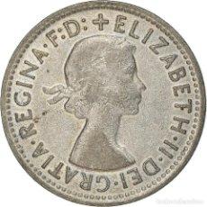 Monedas antiguas de Oceanía: [#371923] MONEDA, AUSTRALIA, ELIZABETH II, SHILLING, 1957, MELBOURNE, MBC, PLATA, KM:59. Lote 289215138