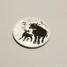Monedas antiguas de Oceanía: 1 DOLAR DE PLATA DE AUSTRALIA DEL AÑO 2021.1 ONZA DE PLATA DE LEY 9999.PROOF. Lote 289569073