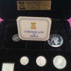 Monedas antiguas de Oceanía: SET MONEDAS DE PLATA ISLE OF MAN 1979 PLATA PROOF TIRADA 10000 EXS.. Lote 289590728