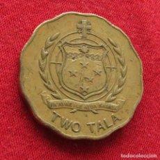 Monedas antiguas de Oceanía: SAMOA 2 TALA 2011. Lote 289615773
