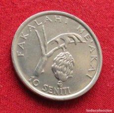Monedas antiguas de Oceanía: TONGA 10 SENITI 1981 FAO #2. Lote 289647948