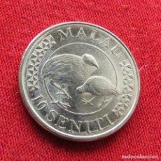 Monedas antiguas de Oceanía: TONGA 10 SENITI 2015. Lote 289648253