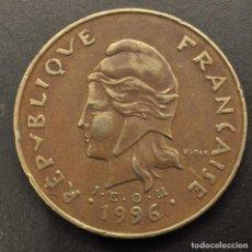 Monedas antiguas de Oceanía: POLINESIA FRANCESA, 100 FRANCOS 1996. Lote 289697108