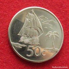 Monedas antiguas de Oceanía: TOKELAU 50 CENTS 2017. Lote 289767843